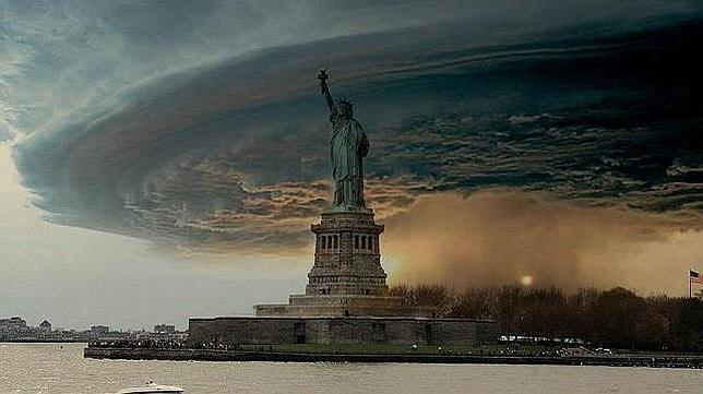 Sandy New York - fake photo -