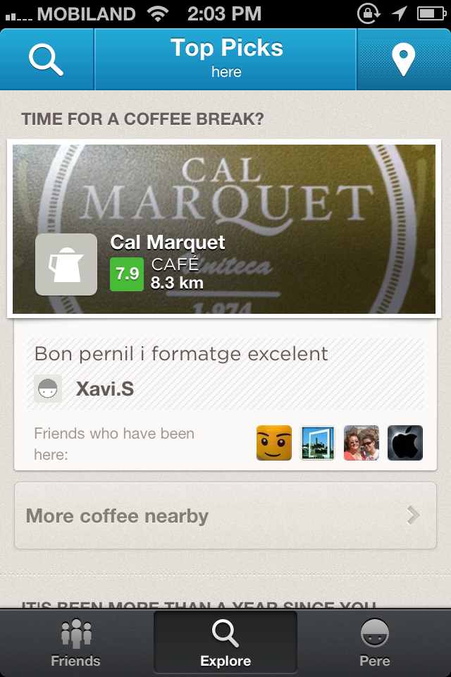 Venue Foursquare
